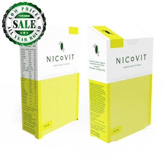 Nicovit Multivitamin for Smokers (30 tablets) (Vitaking) by Vitanord.eu