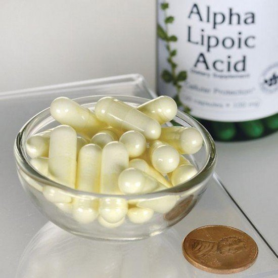 Alpha Lipoic Acid 100mg - Swanson (120 capsules) (Swanson) by Vitanord.eu