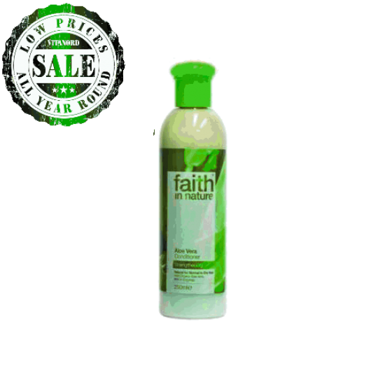 Bio Aloe Vera Conditioner (250ml) (Faith In Nature) by Vitanord.eu