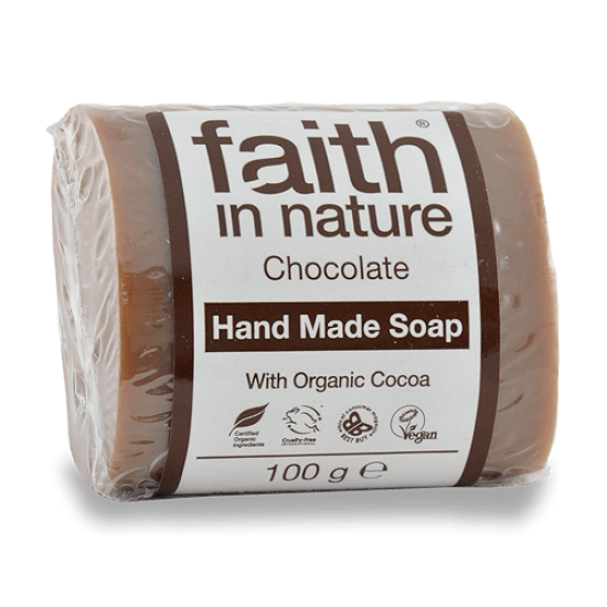 Chocolate Soap (100g) (Faith In Nature) by Vitanord.eu