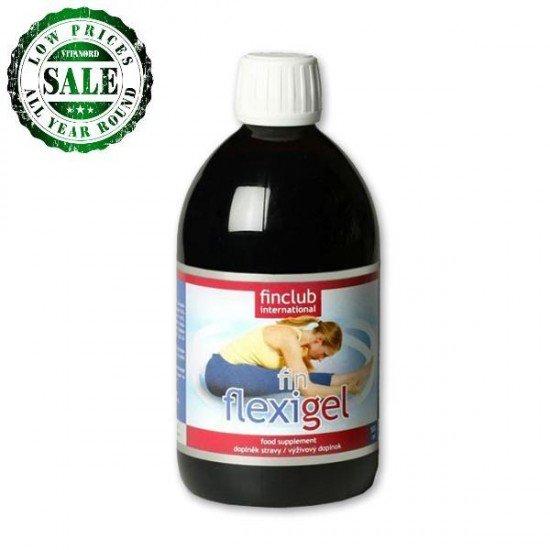 Fin Flexigel - liquid collagen - 500ml (FinClub) by Vitanord.eu