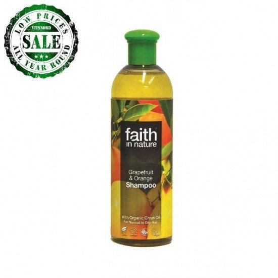 Grapefruit & Orange Shampoo (250ml) (Faith In Nature) by Vitanord.eu