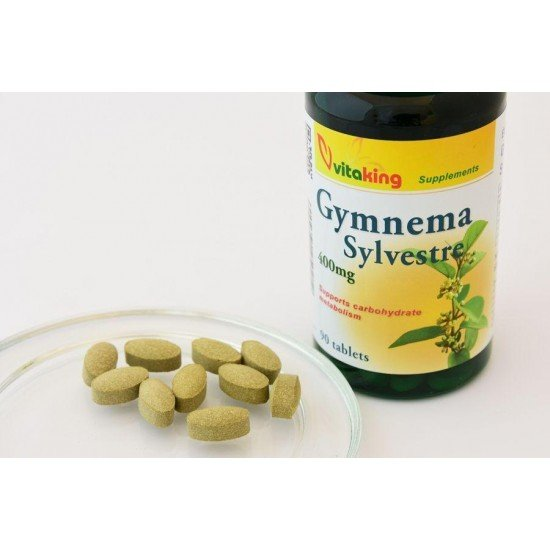 Gymnema Sylvestre 400 mg (90 capsules) (Vitaking) by Vitanord.eu