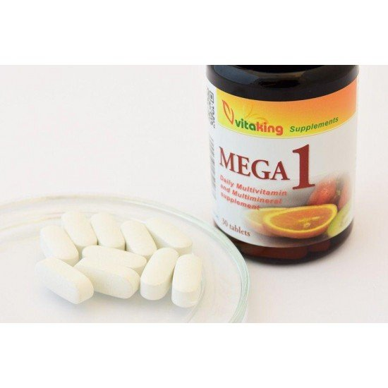 MEGA 1 – Multivitamin (30 tablets) (Vitaking) by Vitanord.eu