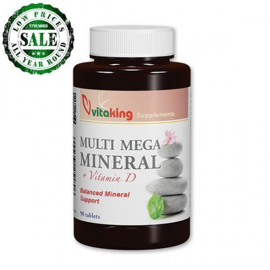 Multi Mega Mineral (90 tablets) (Vitaking) by Vitanord.eu