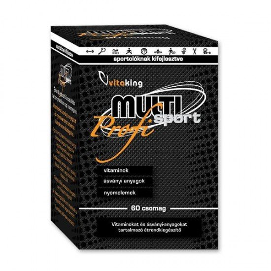 Multi Sport Pro - Daily Vitality Pack (60 servings) (Vitaking) by Vitanord.eu