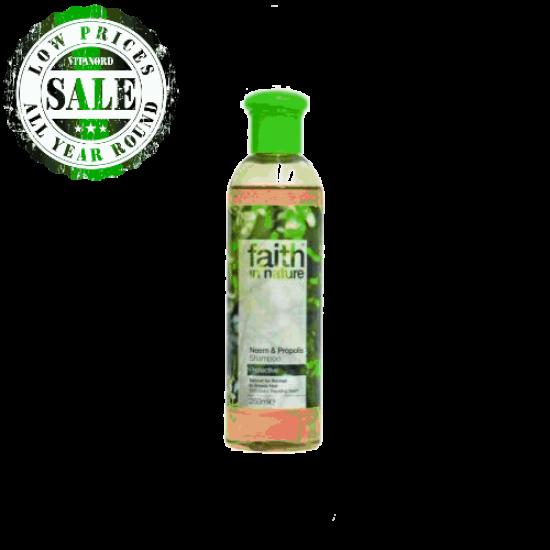Neem & Propolis Shampoo (250ml) (Faith In Nature) by Vitanord.eu