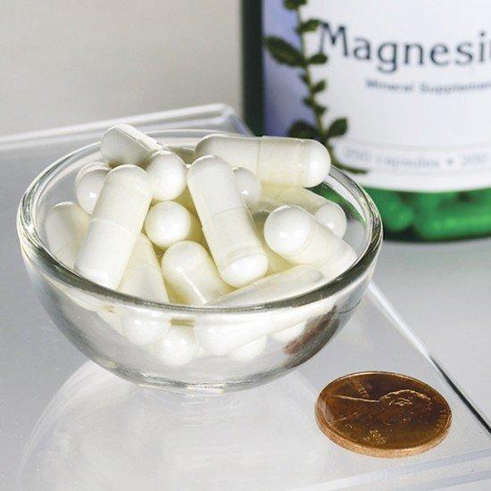 Magnesium 200mg (250 Capsules) Swanson (Swanson) by Vitanord.eu