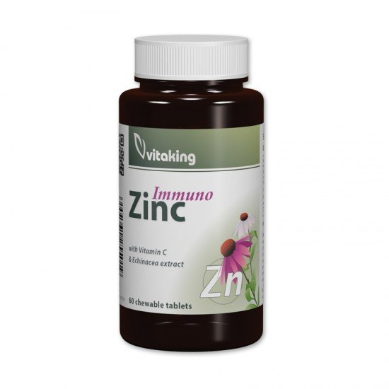 Vitaking Zinc Immuno with Vitamin C and Echinacea (Vitaking) by Vitanord.eu
