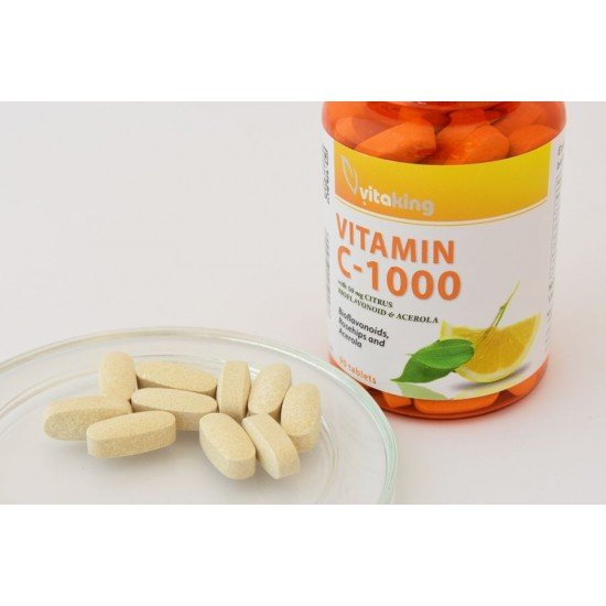 Vitamin C 1000 with 50mg Citrus (90 tablets) (Vitaking) by Vitanord.eu