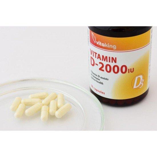 Vitamin D3 2000IU (90 capsules) (Vitaking) by Vitanord.eu